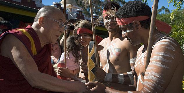 Далай-лама торжественно открыл «Сад просветления» в Австралии