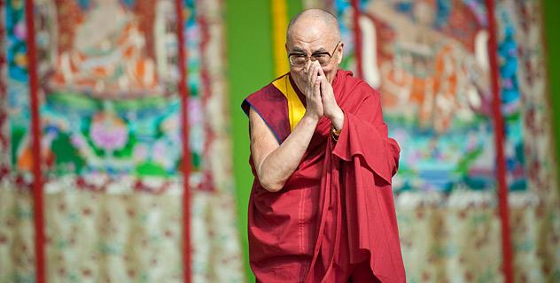 Далай-лама удостоен Темплтоновской премии-2012