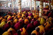 Его Святейшество Далай-лама дает учения по Джатакам. Дхарамсала, Индия. 8 марта 2012 г. Фото: Тензин Чойджор (Офис ЕСДЛ)