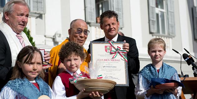 Его Святейшество Далай-лама дарует учения в Клагенфурте