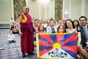 Его Святейшество Далай-лама и сторонники Тибета. Вена, Австрия. 27 мая 2012 г. Фото: Тензин Чойджор (Офис ЕСДЛ)