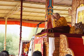 Продолжение учений Его Святейшества Далай-ламы в Лехе, Ладак