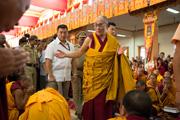 Номын айлдвар үргэлжилж байна. Мундгод, Өмнөд Энэтхэг, 2012 он, 12 сар, 04-06