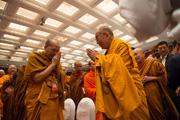 Тайландын бурханы шашны төлөөлөгч нартай уулзав. Энэтхэг, Шинэ Дели. 2012, 12, 15-16