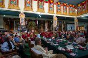 """""""Оюун ухаан ба амьдрал"""" хурлын гурав дахь өдөр. Энэтхэг, Мундгод, Брайбун хийд. 2013.1.19. Фото/Тэнзин Чойнжор/ДЛО"""