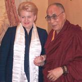 Дээрхийн Гэгээнтэн Далай Лам Литвийн ерөнхийлөгчтэй уулзав