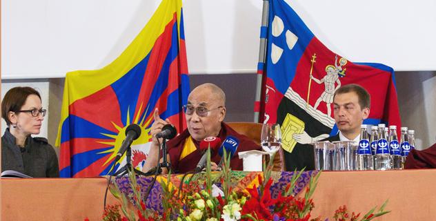 Далай-лама 13-14 июня посетит Литву
