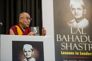 Далай-лама: Шастри сделал бы еще больше на благо родной страны, если бы прожил дольше