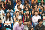 Шри Рам коллеж дэх айлчлал. Энэтхэг, Нью Дели. 2014.03.24