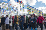 Рига дахь айлдварын эхний өдөр. Латви, Рига. 2014.05.05.
