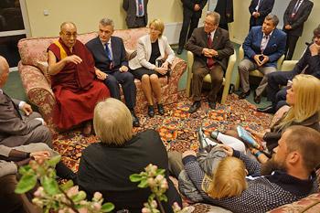 В Риге завершились учения Далай-ламы