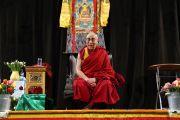 Дээрхийн Гэгээнтэн Далай Лам Төвдийн нийгэмлэг болон Төвдийг дэмжигч нартай Лаурений сүмд уулзав. Голланд, Роттердам. 2014.05.10. Зургийг Жеппе Шилдер
