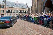 Роттердам дахь айлчлалын сүүлийн өдөр. Голланд, Роттердам. 2014.05.12