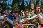 Италийн Помайа дахь айлчлалын сүүлийн өдөр. Итали, Помайа. 2014.06.13.