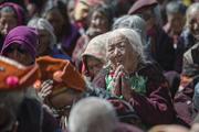 Дээрхийн Гэгээнтэн Далай Лам Занскарт морилов. Энэтхэг, Жамму Кашмер. 2014.06.23.