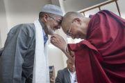 Дээрхийн Гэгээнтэн Далай Лам Ладакт. Энэтхэг, Жамму Кашмир, Ладак. 2014.07.14-15.