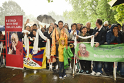 Дээрхийн Гэгээнтэн Далай Лам Германы Гамбургт морилов. 2014.08.23.