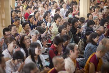 Далай-лама дарует учения для тайваньских буддистов в Дхарамсале