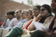 Жавхарлал Неругийн нэрэмжит их сургууль дахь айлчлал.  Энэтхэг, Шинэ Дели, 2014.11.20.