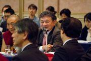 Один из докладчиков на научной конференции по буддийской философии. Токио, Япония. 5 апреля 2015 г. Фото: Тензин Джигме