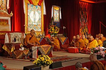 Заключительный день учений Далай-ламы в Леуре, Австралия
