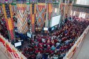 """30 дахь удаагийн """"Оюун ухаан ба Амьдрал"""" хурал явагдаж буй байдал. Энэтхэг, Карнатака, Хүнсүр. 2015.12.16. Гэрэл зургийг Тэнзин Чойжор (ДЛО)"""