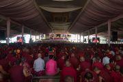 Номын айлдварын үеэр. Энэтхэг, Карнатака, Билакуппе, Дашлхүнбо хийд. 2015.12.24. Гэрэл зургийг Тэнзин Чойжор (ДЛО)