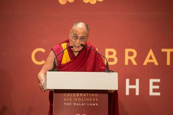 В Дели состоялись торжества в честь прошедшего 80-летия Далай-ламы
