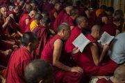 Десятый день молитвенного собрания в главном тибетском храме. Дхарамсала, Индия. 16 мая 2016 г. Фото: Тензин Чойджор (офис ЕСДЛ)
