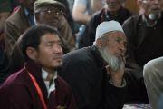 Прихожане мечети суннитов во время визита Его Святейшества Далай-ламы. Ле, Ладак, штат Джамму и Кашмир, Индия. 27 июля 2016. Фото: Тензин Чойджор (офис ЕСДЛ)