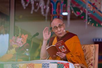 В Ладаке состоялись четырехдневные учения Далай-ламы по поэме Шантидевы «Путь бодхисаттвы»