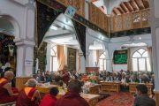 Его Святейшество Далай-лама обращается к собравшимся в мечети Имамбарга Чучот Гонгма. Ле, Ладак, штат Джамму и Кашмир, Индия. 17 августа 2016 г. Фото: Тензин Чойджор (офис ЕСДЛ)