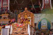 Его Святейшество Далай-лама во время заключительного четвертого дня учений. Ле, Ладак, штат Джамму и Кашмир, Индия. 21 августа 2016 г. Фото: Тензин Чойджор (офис ЕСДЛ)