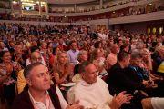 Аудитория во время заключительного дня конференции «Власть и забота» под эгидой института «Ум и жизнь», на которую собралось более 1900 участников. Брюссель, Бельгия. 11 сентября 2016 г. Фото: Оливье Адам