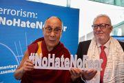 Дээрхийн Гэгээнтэн Далай Ламын Европын парламент дахь айлчлалын фото сурвалжлага. Франц, Страсбург. 2016.09.15.