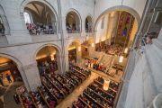 Дэлхийн энх тайвны төлөө олон шашны төлөөлөгч нартай хамт мөргөл үйлдэв. Швейцарь, Цюрих. 2016.10.15.