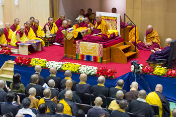 В Осаке прошел первый день учений Далай-ламы по поэме Шантидевы «Путь бодхисаттвы»
