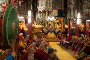 Дээрхийн Гэгээнтэн Далай Лам Гандантэгчэнлин хийдийн хуралд хурав. Монгол улс, Улаанбаатар хот. 2016.11.19. Гэрэл зургийг Тэнзин Такла (ДЛО)