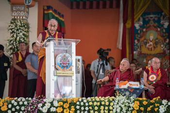 О праздновании 600-летия со дня основания монастыря Дрепунг