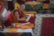 Гандан хийдэд Зулын 25-ны дүйчэн өдрийг тэмдэглэв. Энэтхэг, Мундгод, Гандан хийд. 2016.12.23.