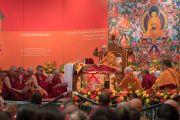 Оросын буддист нарт зориулсан номын айлдвар эхэллээ. Энэтхэг, Шинэ Дели. 2016.12.25.