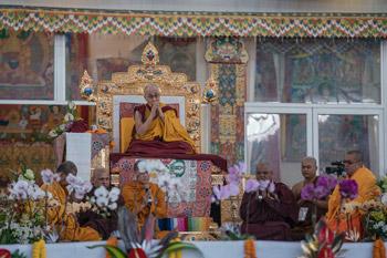 В Бодхгае начались учения, предваряющие посвящение Калачакры