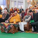 34 дэх удаагийн Дүйнхорын авшигийн төгсгөлийн өдрийн  Жанрайсигийн авшиг ба Дээрхийн Гэгээнтэн Далай Ламд даншүг өргөх ёслол