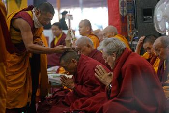 В Бодхгае состоялся молебен о долголетии Его Святейшества Далай-ламы