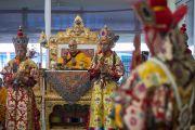 Дээрхийн Гэгээнтэн Монголын сүмийн нээлтэнд оролцов. Энэтхэг, Бодьгаяа. 2017.01.09.