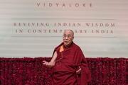 Дээрхийн Гэгээнтэн Далай Лам Талкатора стадионд илтгэл тавьлаа. Энэтхэг, Шинэ Дели. 2017.02.05.