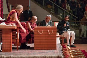 Далай-лама прочел публичную лекцию в Нью-Дели