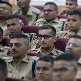 Үндэсний цагдаагийн академид илтгэл тавив