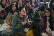 Видяалоке сангийн урилгаар номын айлдвар айлдав. Энэтхэг, Шинэ Дели. 2017.02.03.