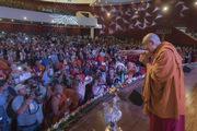 Олон улсын буддын хурлын нээлтийн ажилд уригдан оролцлоо. Энэтхэг, Бихар, Ражгир. 2017.03.17.